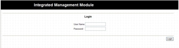 Integrated Management Module User Guide - Opening and Using