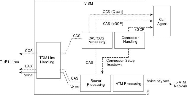 The vism card hardware and software cisco the cas signaling path on the tdm side is embedded in the voice stream but is separated at the bearer processing function the cas signaling then joins the ccuart Gallery