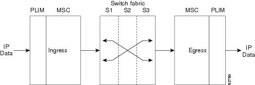 Switch fabric slots