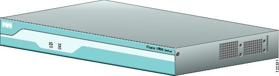 Cisco 1800 Series Hardware Installation (Modular) - Overview of ...