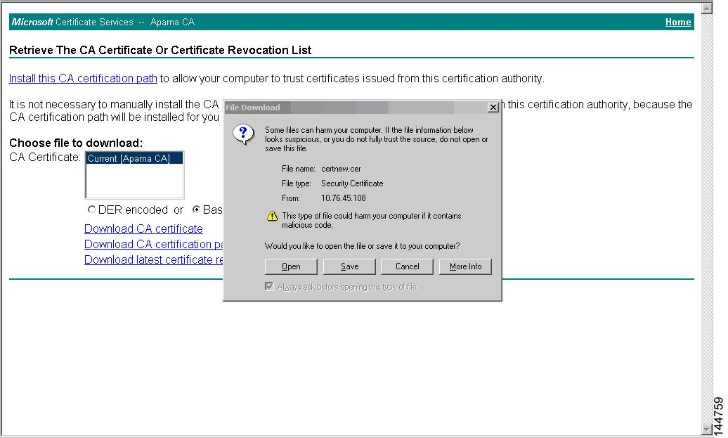 Configuring Certificate Authorities And Digital Certificates Cisco