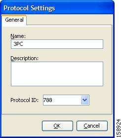 Protocol Settings dialog box