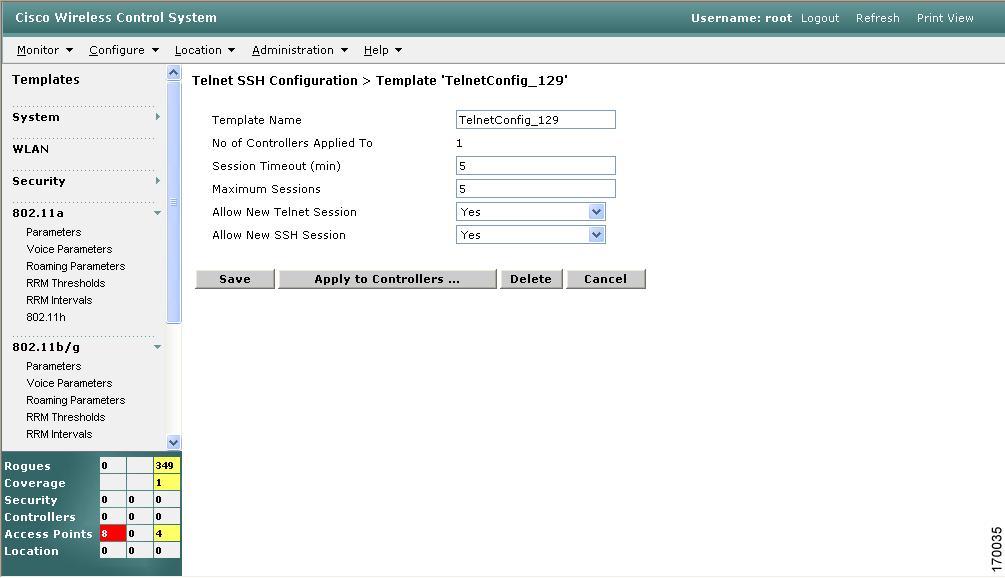 Cisco Wireless Control System Configuration Guide, Release