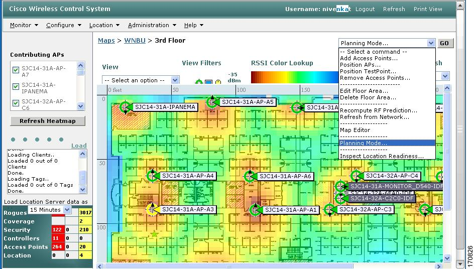 Cisco Wireless Control System Configuration Guide Release 4 1 Adding And Using Maps Cisco
