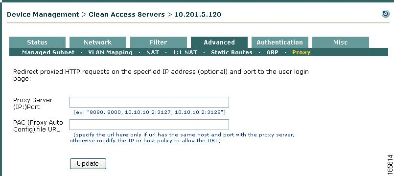 Configuring the CAS Managed Network - Cisco