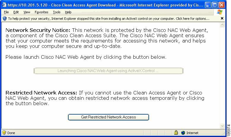 Cisco NAC Agent (free) download Windows version