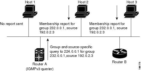 IGMPv3 Group-and-Source-Specific Query