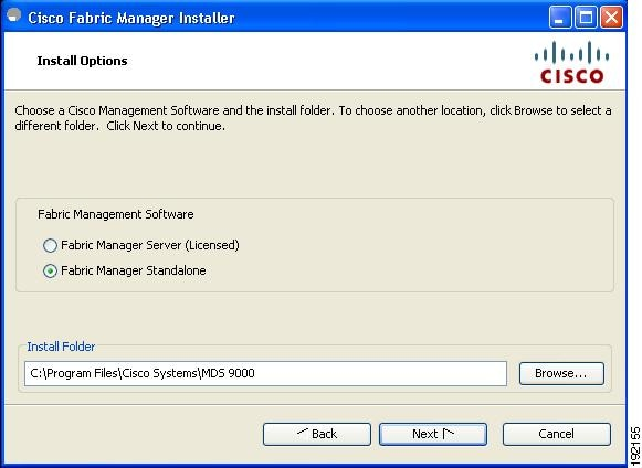 Installing Cisco Fabric Manager on Wind... - Cisco Community