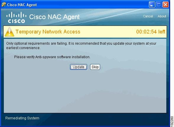Cisco nac appliance clean access manager configuration guide.