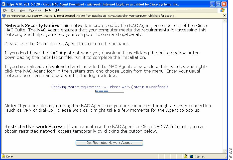 Cisco NAC Appliance - Clean Access Manager Installation and ...