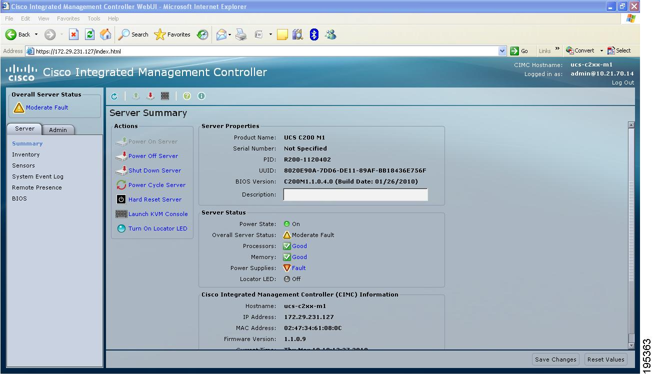 Cisco UCS C-Series Servers Integrated Management Controller