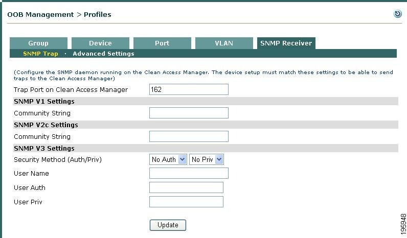 Cisco NAC Appliance - Clean Access Manager Configuration