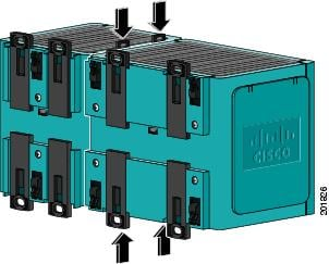 Cisco Ie 3000 Series Switch Hardware Installation Guide. Ure B6 Pushing The Module Latches In. Wiring. Sisco Turnstile Card Reader Wiring Diagram At Scoala.co