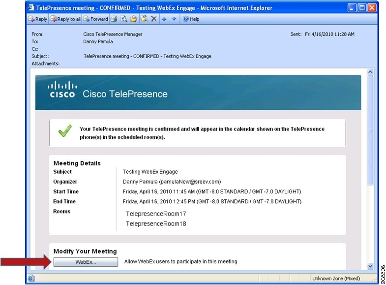 Cisco TelePresence System User Guide CTS 19 Using Cisco WebEx