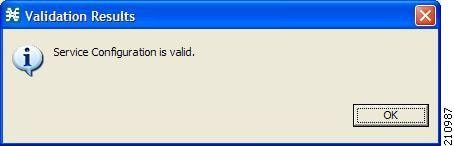 Validation Results dialog box