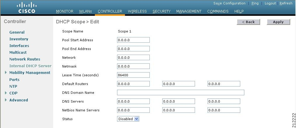 Cisco wireless lan controller configuration guide release for Cisco show pool dhcp