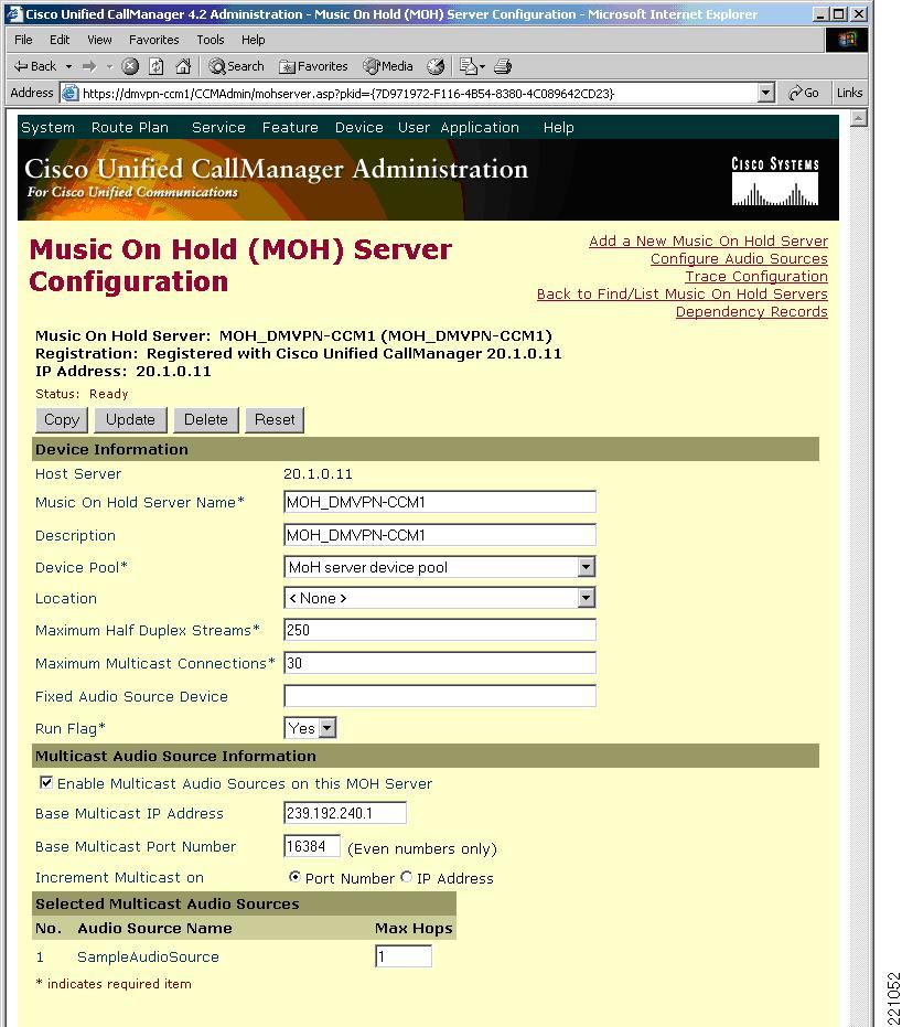 Cisco Unified Communications Voice over Spoke-to-Spoke DMVPN Test ...