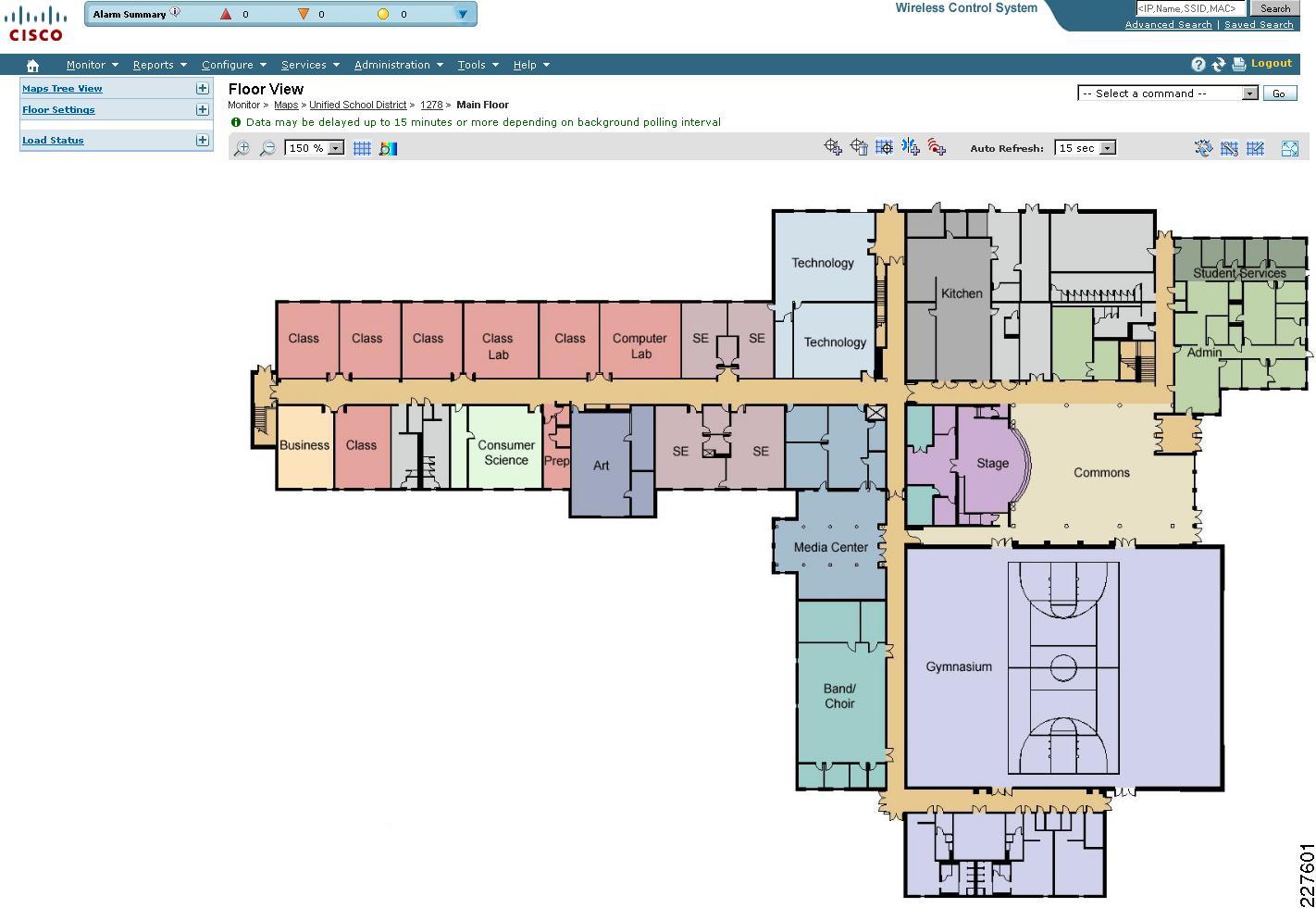 Figure 6 10 Floor Level For School #1278