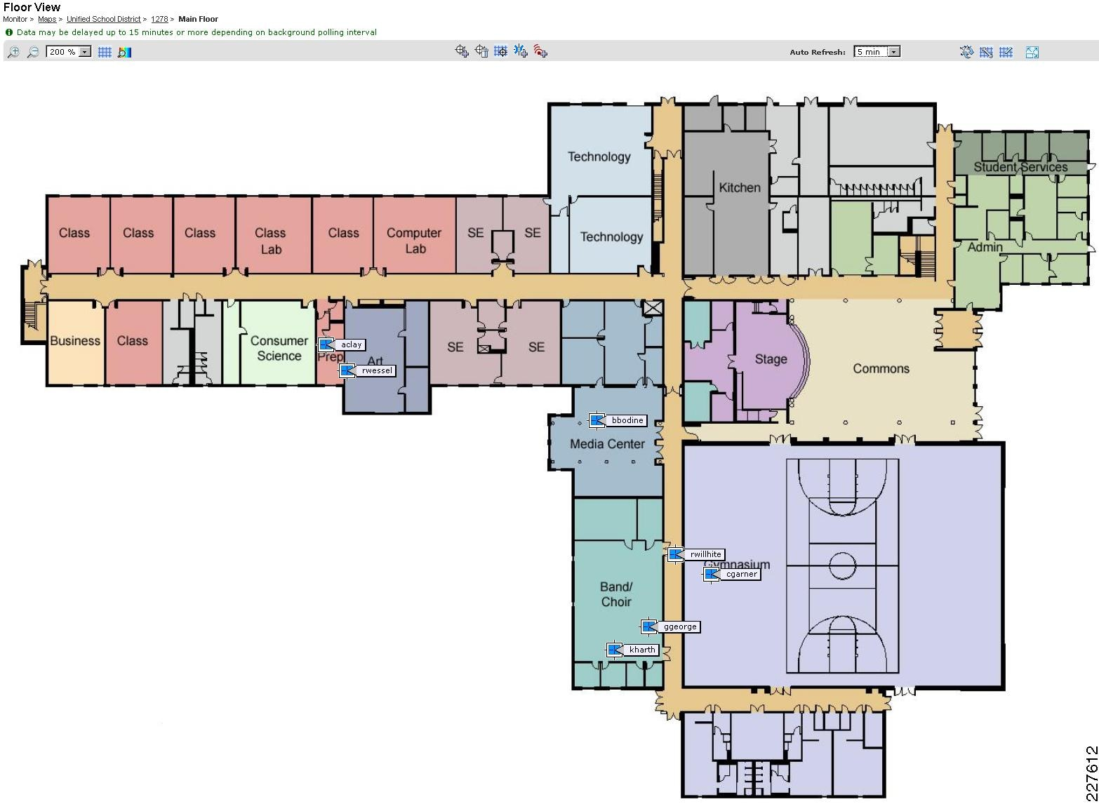 Cisco Service Ready Architecture For Schools Design Guide Context Atlas Traps Wiring Diagram Aware Services Zone Education