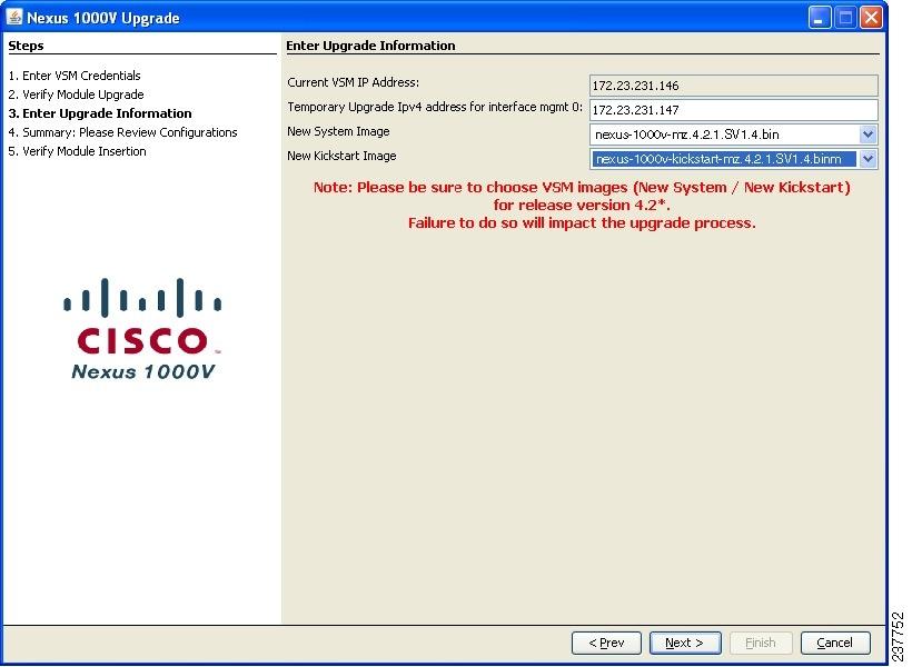 Cisco Nexus 1000V Software Upgrade Guide, Release 4 2(1)SV1