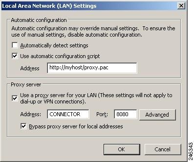 Configuring Connector - Cisco