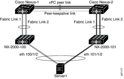 Host Interface vPC Topology