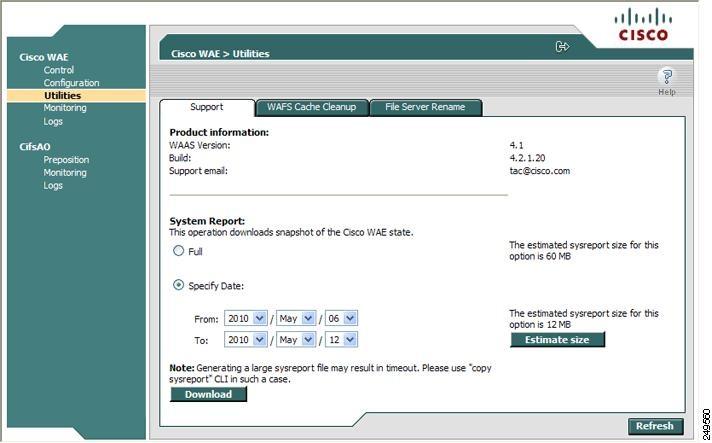 Cisco Wide Area Application Services Configuration Guide (Software ...