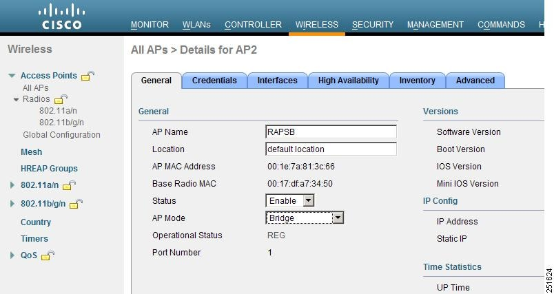 AP fails to join controller