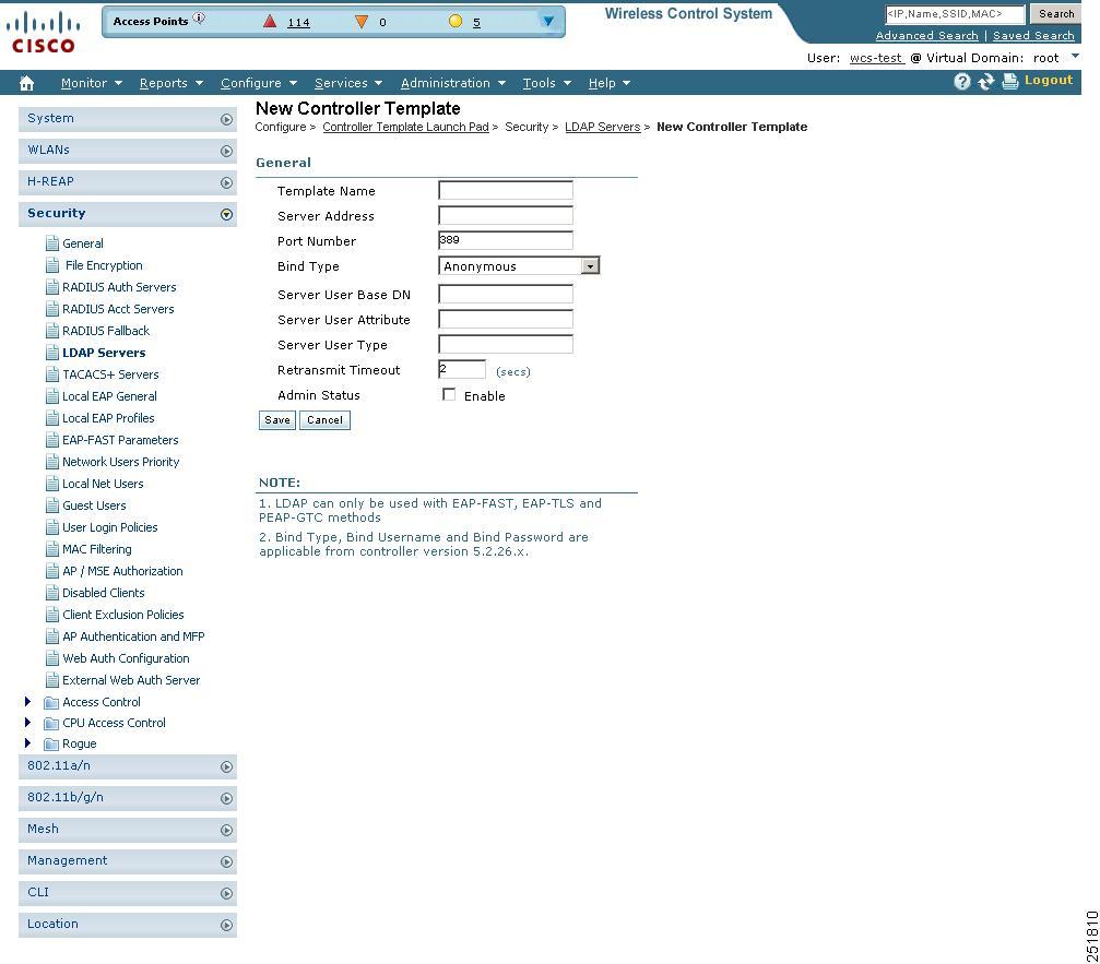 Cisco Wireless Control System Configuration Guide, Release 6.0 ...