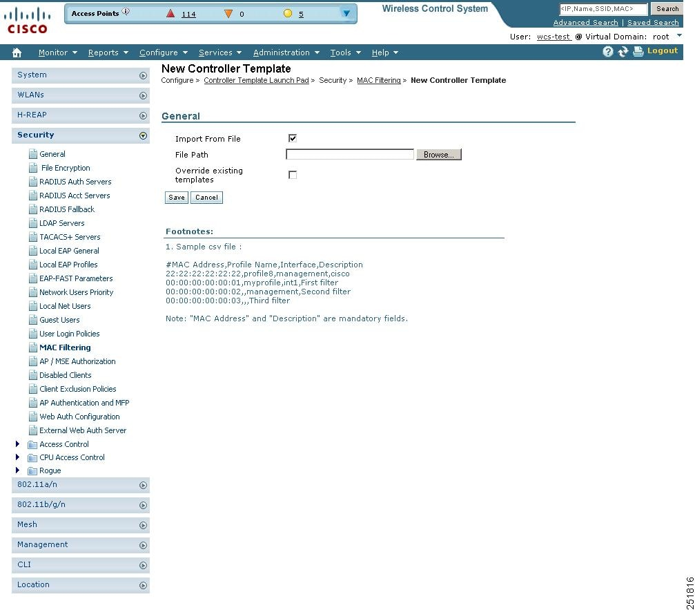 Cisco Wireless Control System Configuration Guide, Release 6.0 ...