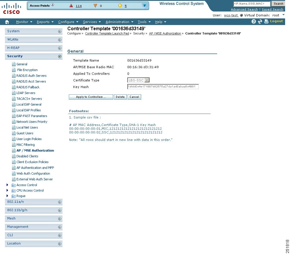 Figure 11 32 Ap Mse Authorization Templates