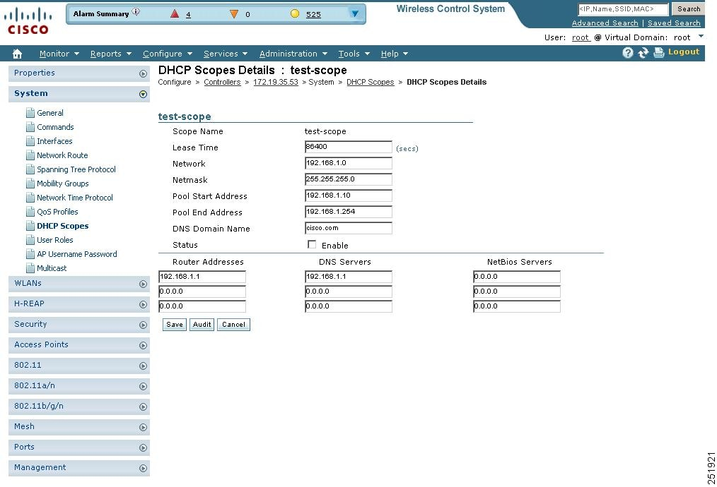 Cisco Wireless Control System Configuration Guide, Release 6 0