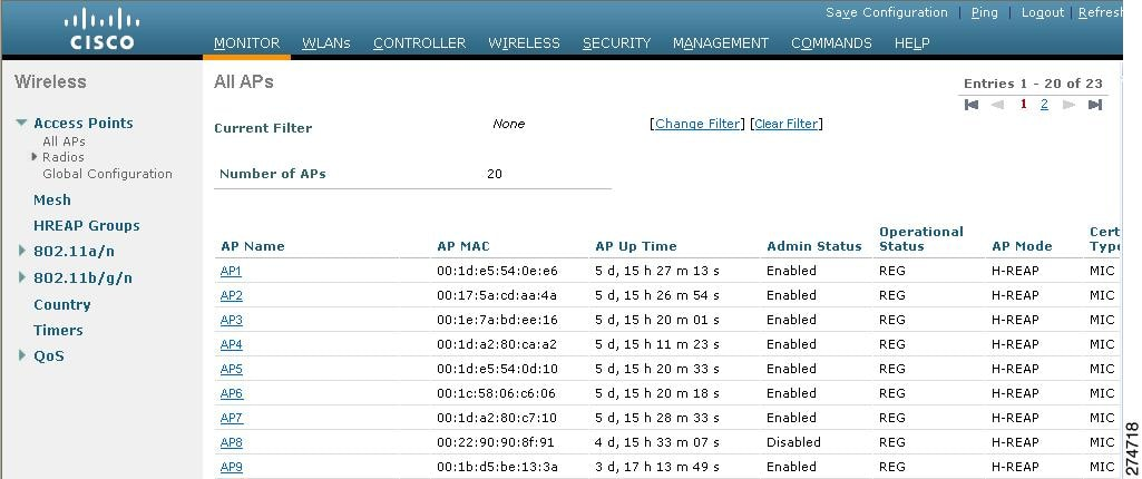 Cisco Wireless LAN Controller Configuration Guide, Release 7 2