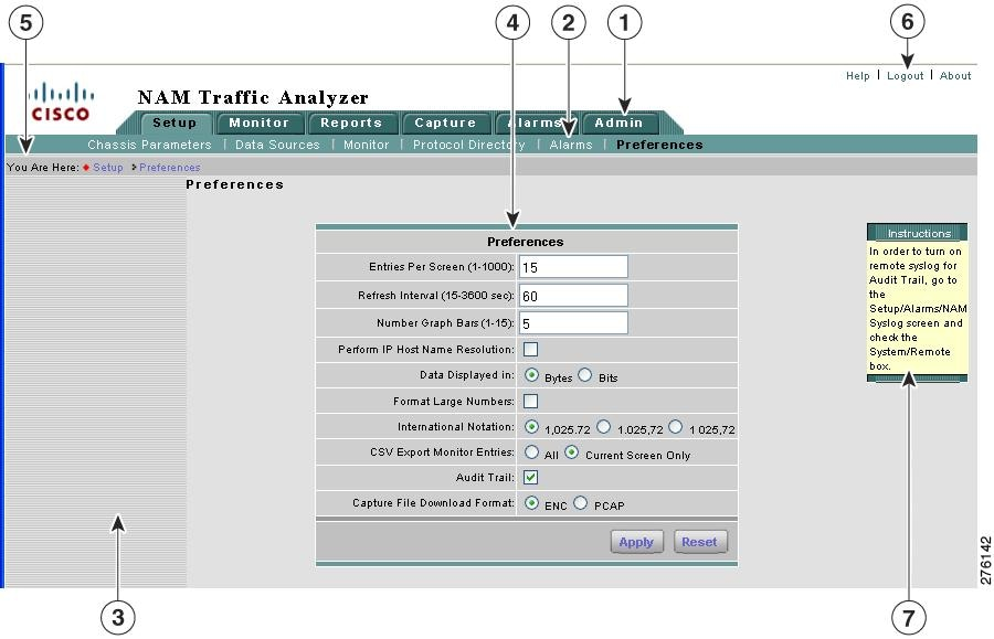 User Guide for Cisco Network Analysis Module Traffic