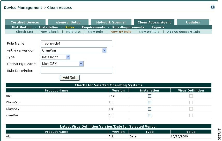 Cisco Nac Appliance Clean Access Manager Configuration Guide