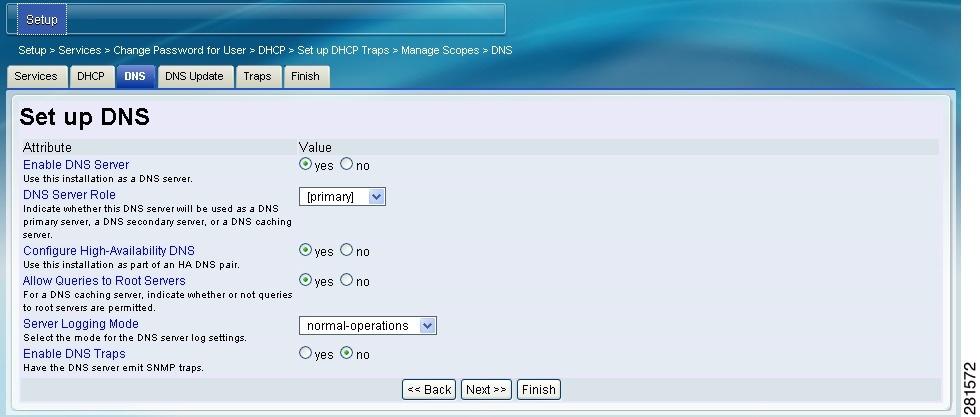 how to set up dns on sagecom