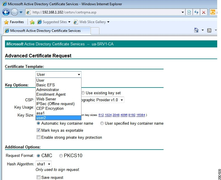 how to tell which certificate exchange server is using