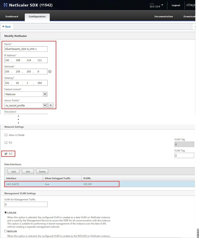 Configuration Details - Cisco