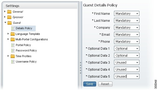 Cisco identity services engine user guide release 11x user there are five additional fields that you can use to add any additional information that you require sponsors to fill out when creating guest accounts maxwellsz