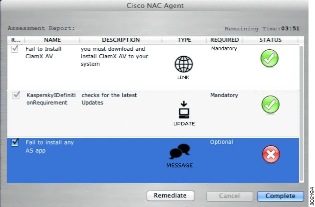 Cisco NAC Appliance Agents - Cisco