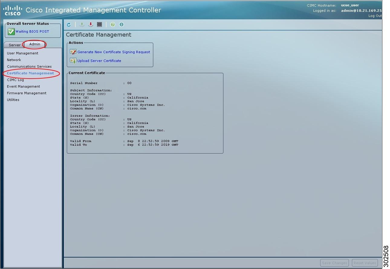 Gui configuration guide for cisco ucs e series server modules uploading a server certificate xflitez Gallery