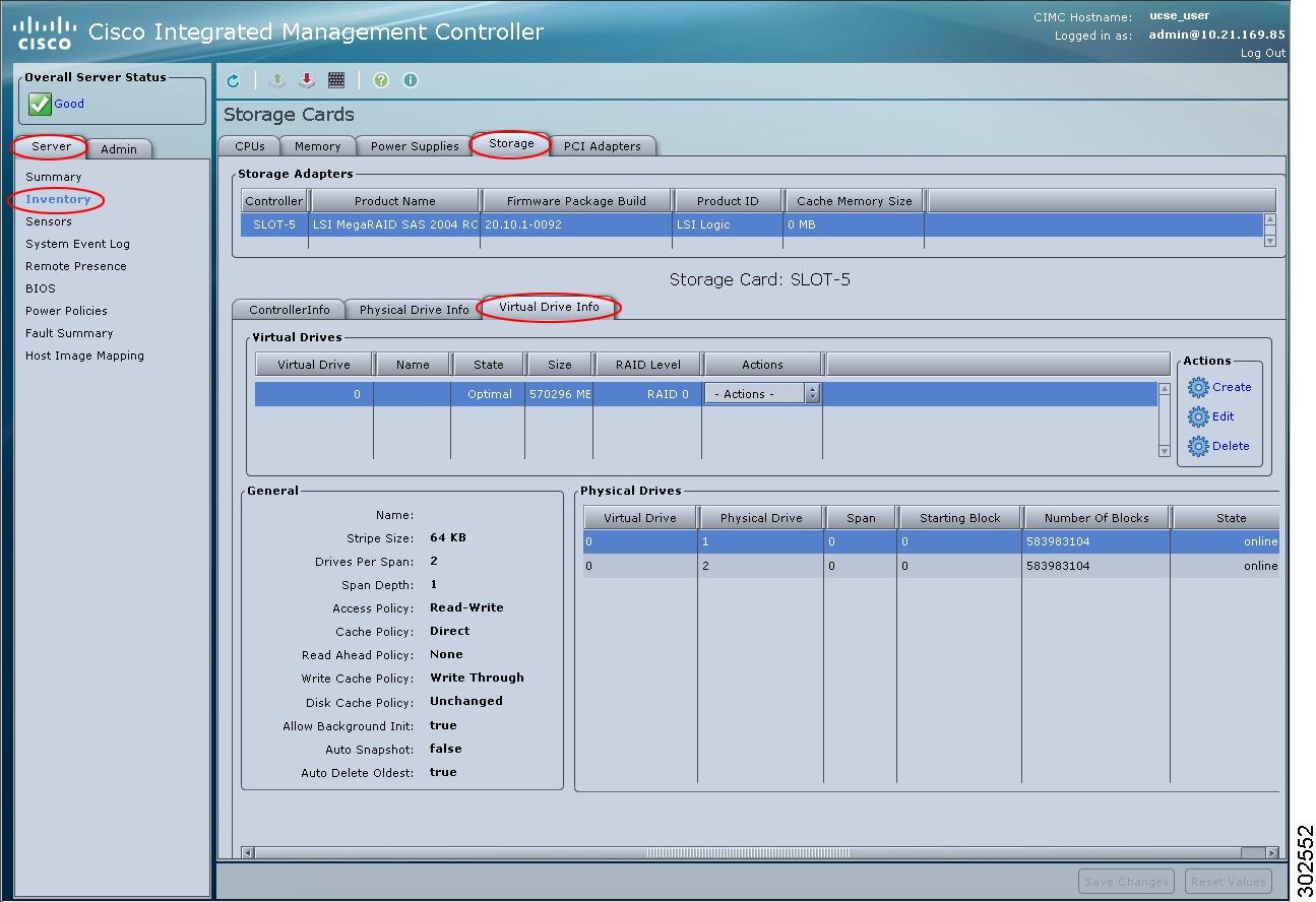 Deleting RAID Configuration