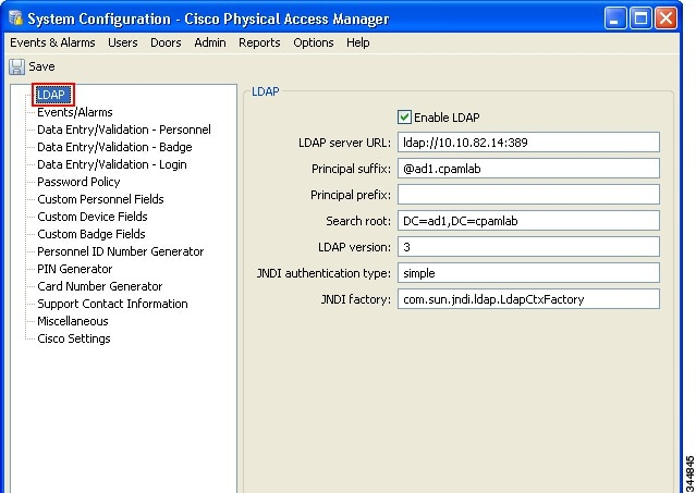 Cisco Physical Access Manager User Guide, Release 1.4.1