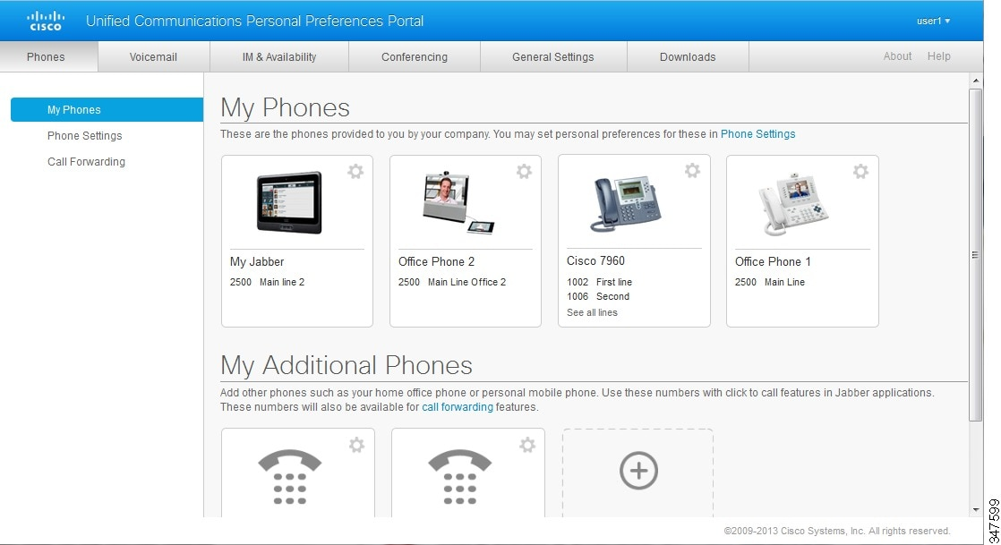 Cisco Unified Communications Self Care Portal User Guide