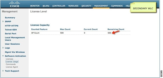 N+1 High Availability Deployment Guide - Licensing [Cisco