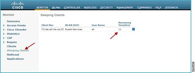 Cisco WLC Sleeping Clients - Borderless CCIE
