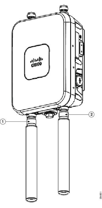 Cisco Aironet 1560 Series Outdoor Access Point Hardware