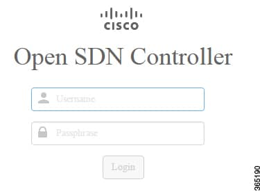 Open SDN Controller Login