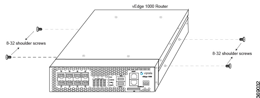 Hardware Installation Guide for vEdge Routers - vEdge 1000