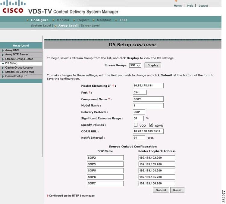 Cisco VDS-TV RTSP Configuration Guide, Release 4 10 - Configuring